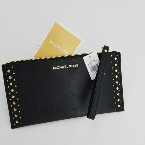 c3cf8944f2e6 MICHAEL Michael Kors Bags | Michael Kors Jetset Travel Black Large ...